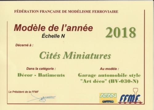 Priix FFMF / AFAN pour Cités Miniatures