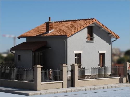 Une nouvelle maison de ville : le Pavillon – Echelle HO