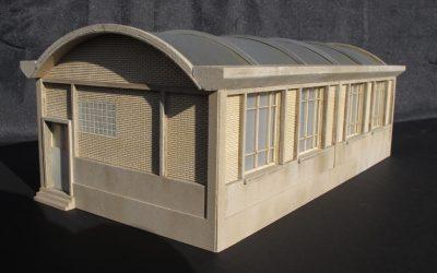 Atelier SNCF Grandes fenêtres carrées – Echelle HO