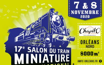 17eme Salon du train Miniature d'Orléans