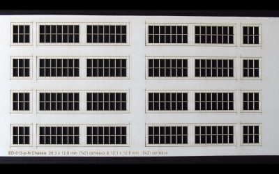 Fenêtres de remise Echelle N